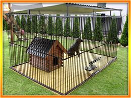 PUSZEK Hundezwinger 3x2m